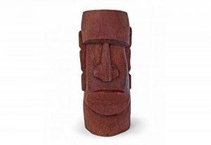 KOH DECO Tiki Moai en cocotier H 50 cm de la marque KOH DECO image 0 produit