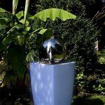 Köhko Eau Jeu de lumière 30cm Fontaine 51006M avec bac en blanc lait avec changement de couleur par télécommande infrarouge 24touches de la marque Köhko image 4 produit