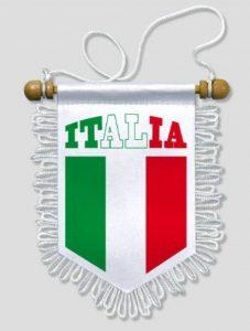 KOO Interactive - Fanion Voiture Italie Italia - 13 x 15 cm - Blason Ecusson Football de la marque KOO Interactive image 0 produit