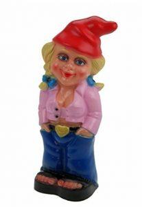 Kremers Schatzkiste Nain de jardin femme Mandy Rose en PVC résistant aux chocs, figurine fabriquée en Allemagne de la marque Kremers-Schatzkiste image 0 produit