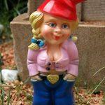 Kremers Schatzkiste Nain de jardin femme Mandy Rose en PVC résistant aux chocs, figurine fabriquée en Allemagne de la marque Kremers-Schatzkiste image 1 produit