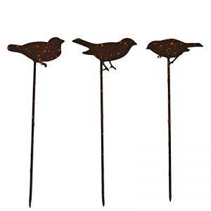 La Grande Prairie Set pique jardinière oiseaux 10x30 cm de la marque La Grande Prairie image 0 produit