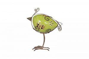 La Hacienda Annika: Rainbow Avery Bird, Vert, 9x 18x 18cm de la marque La Hacienda image 0 produit