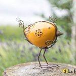 La Hacienda Elsa: Avery Rainbow Bird, Orange, 9x 18x 17cm de la marque La Hacienda image 1 produit