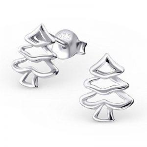 Laimons Bijou pour femme boucles d'oreilles pour femme sapin de Noël vide brillant argent sterling 925 de la marque Laimons image 0 produit