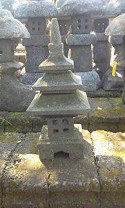 Lanterne Japonaise Lampe japonaise en pierre de lave 50cm déco zen BONAREVA de la marque BONAREVA image 0 produit