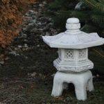 Lanterne Japonaise Yukimi OKI Gata en pierre Fonte au gel, gris, 40 cm de la marque gartendekoparadies.de image 1 produit