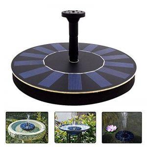 LATITOP Free - Standing Flottant Pompe Solaire Solar Fontaine, de Jardin, 1.4W Bain D'oiseau, Petit étang de la marque LATITOP image 0 produit