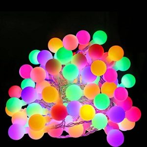 LE 10m Guirlande Lumineuse Boules 100 LED 8 Modes Lumineux Dynamique avec Fonction de Mémoire Parfait pour Décoration Chambre Noël Arbre Sapin Jardin Mariage Terrasse Pelouse Prise EU de la marque Lighting EVER image 0 produit