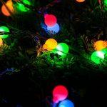 LE 10m Guirlande Lumineuse Boules 100 LED 8 Modes Lumineux Dynamique avec Fonction de Mémoire Parfait pour Décoration Chambre Noël Arbre Sapin Jardin Mariage Terrasse Pelouse Prise EU de la marque Lighting EVER image 4 produit