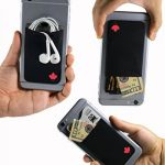 """""""Le porte carte adhesif - Gecko pour téléphone portable - en Canada Drapeau"""" de la marque Gecko Travel Tech image 2 produit"""