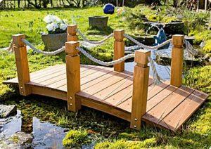 Le summum pour votre jardin - Le pont avec main courant de la marque GASPO image 0 produit