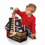 Le Toy Van - TV246 - Bateau Pirates Barbarossa - Bois de la marque Le Toy Van image 2 produit