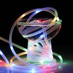 LE Tube Lumineux Extérieur Guirlande Lumineuse LED RGBY USB 10m 100 LED, 8 Modes d'Eclairage Etanche IP65 avec Télécommande, Guirlande Tube pour Décoration Extérieure Intérieure Jardin Arbre Terrasse Pergola Tonnelle Balcon de la marque Lighting EVER image 4 produit