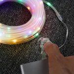LE Tube Lumineux Extérieur Guirlande Lumineuse LED RGBY USB 10m 100 LED, 8 Modes d'Eclairage Etanche IP65 avec Télécommande, Guirlande Tube pour Décoration Extérieure Intérieure Jardin Arbre Terrasse Pergola Tonnelle Balcon de la marque Lighting EVER image 3 produit
