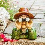 Le Voisin Trop Curieux Grand Ornement de Jardin en Résine. de la marque Gardens2you image 3 produit
