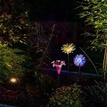 LED Couleur Changeante Solar Stake Lights Extérieure, Solar Light LED Décor De Jardin Statues, Patio Lights LED Extérieure Multicolore Changeant LED Lights, [Set De 3] de la marque JFJL image 1 produit