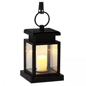 LED Lanterne solaire Romantica Leuchten Lampe solaire de sécurité résistante aux intempéries avec bougies Décoration Jardin Terrasse Lampadaire Décoration balcon piscine bassin solaire Escalier Lampe de la marque MIANBAOSHU image 0 produit