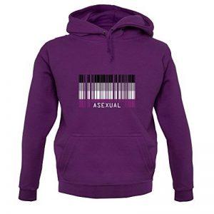 LGBT Flags - Asexual - Unisexe Pull - Violet - XS de la marque Dressdown image 0 produit