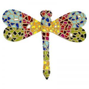 Libellule en Mosaïque - Décoration de Jardin Murale - Multicolore de la marque Gardens2you image 0 produit
