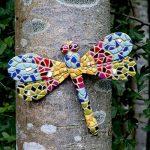 Libellule en Mosaïque - Décoration de Jardin Murale - Multicolore de la marque Gardens2you image 2 produit