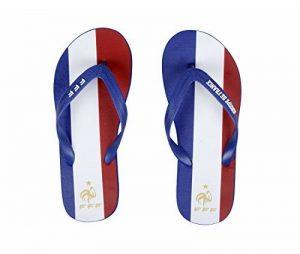 Licence Officielle Tongs Tricolores Fan France Bleu/Blanc/Rouge - Collection France de la marque Licence Officielle image 0 produit