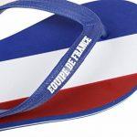 Licence Officielle Tongs Tricolores Fan France Bleu/Blanc/Rouge - Collection France de la marque Licence Officielle image 1 produit