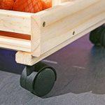 Links 60100400 - Etagère Cagettes en Bois empilables pour fruits - 30 x 37 x 80 cm de la marque Links image 4 produit