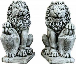 lion en pierre pour jardin TOP 10 image 0 produit