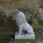 lion en pierre pour jardin TOP 11 image 2 produit