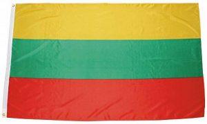 Lituanie, Polyester drapeau 90 x 150 cm de la marque MFH image 0 produit