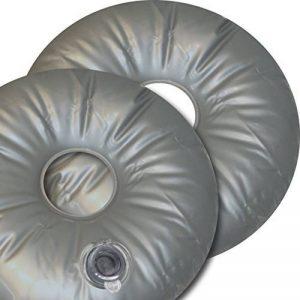 Lot de 2croix poids poids 10L Sable eau de tuyau pour pied Drapeau beachflag de la marque GreenIT image 0 produit