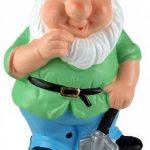 Lot de 2sifflante Gnomes–Sensor Action–Fun Jardin ou maison Ornement de la marque Giftworks image 3 produit
