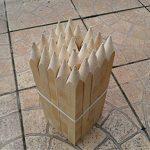 Lot de 20 30,0 cm (300 mm) traité Site Piquets en bois Piquets Piquets de poteaux … de la marque Konrado-Garden image 2 produit