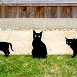 Lot de 3épouvantails de chat effrayant avec des yeux réalistes par PestBye de la marque PestBye image 1 produit