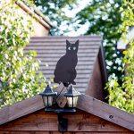 Lot de 3épouvantails de chat effrayant avec des yeux réalistes par PestBye de la marque PestBye image 2 produit
