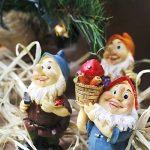 Lot de 6mini figurines de nain–Nain de jardin Gnomes de fée–Figurines, couleurs assorties, 4,3x 10,2x 4,1cm de la marque Juvale image 1 produit