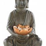 Lunartec Lampe LED solaire Bouddha de la marque Lunartec image 1 produit