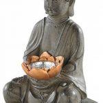 Lunartec Lampe LED solaire Bouddha de la marque Lunartec image 2 produit