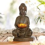 Lunartec Lampe LED solaire Bouddha de la marque Lunartec image 4 produit