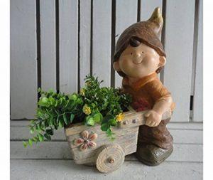 Lutin enfant porte plantes avec chapeau de la marque MAXIOCCASIONI image 0 produit