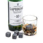 Luxe pierres à whisky avec verres à whisky et étui Ensemble cadeau: réutilisable Chilling Rocks refroidissement boissons sans Dilution- Premium haute qualité Cadeau d'anniversaire ou de Plaisir pour votre Self de la marque Luxury Whiskey Stones image 4 produit