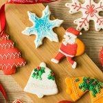 Lynlon cookie cutter Set [27 pièces], rédacteur de gâteau de cuisson-sapin de Noël, homme en pain d'épice, flocon de neige, étoile, en forme de coeur en acier inoxydable modèle de la marque Lynlon image 2 produit
