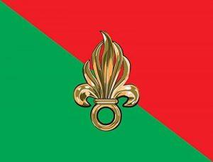 magFlags Drapeau Large Legion | Légion étrangère française avec grenade à 7 flammes | drapeau paysage | 1.35m² de la marque magFlags image 0 produit