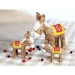 MagiDeal 3 Pièces Mini Animal Miniature en Résine pour Décoration de Bonsai Jardin Maison de la marque MagiDeal image 3 produit