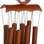 MagiDeal Calmant Bambou Carillon à Vent Son Agréable et Relaxant Décor de Jardin Blacon Cour - Marron de la marque MagiDeal image 3 produit