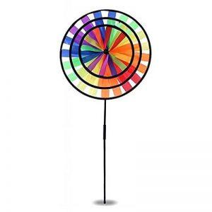 MagiDeal Moulin à Vent 3D Wind Tourner Whirligig Jouet en Plein Air Jeu Jardin Cour Gazon Décoration de la marque MagiDeal image 0 produit