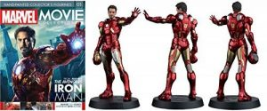 Marvel Movie Collection Figure #1 Iron Man de la marque Eaglemoss image 0 produit