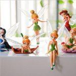 Matecam Lot de 6différents Fleur Fée Décorations figurine miniature pour jardin Pot de fleurs Craft Dollhouse Décoration de la marque MATECam image 4 produit
