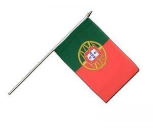 MaxFlags® drapeau avec manche Portugal 30x45cm de la marque MaxFlags image 0 produit